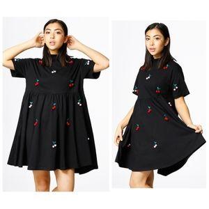 Lazy Oaf|Pom Pom Cherry Dress